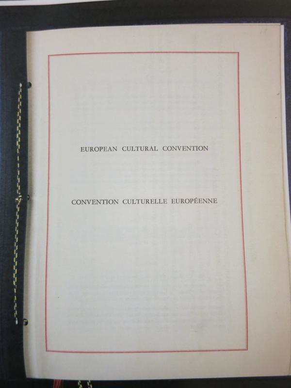 European Cultural Convention (1954)