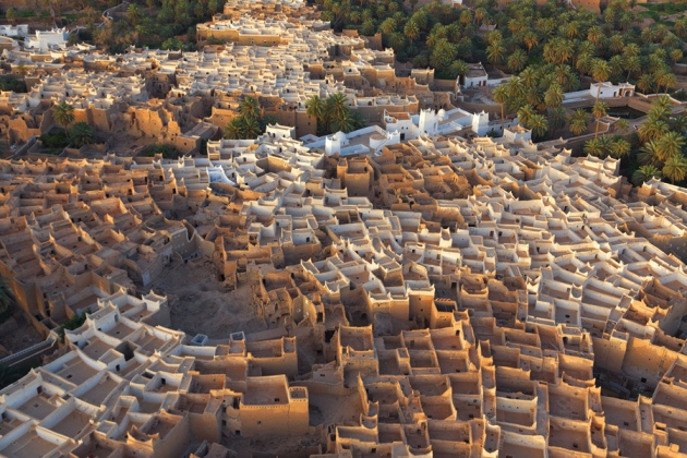 Ghadames, previously home to the Romans, suffered a rocket attack in 2011.