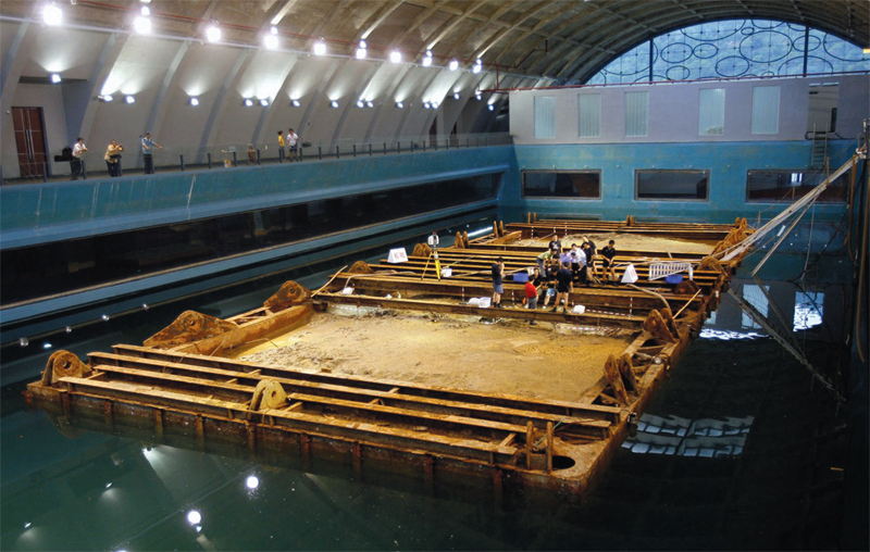 Rock the boat. China raised the Song dynasty–era Nanhai 1 from the sea floor intact. A lavish new museum houses the wreck.